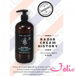 THE BEARD RAZOR CREAM HISTORY 500ML